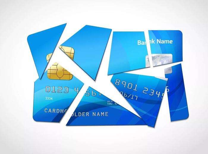 Процесс отказа от кредитной карты