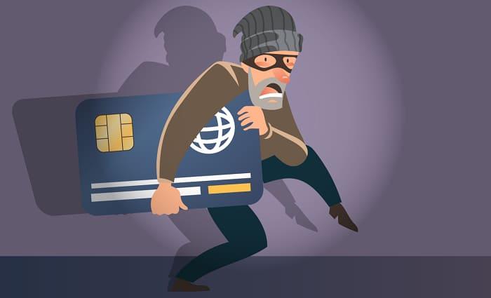 Кража денег с пластиковой карточки