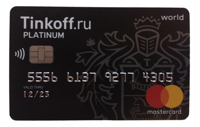 Как отказаться от заказанной кредитной карты «Тинькофф»