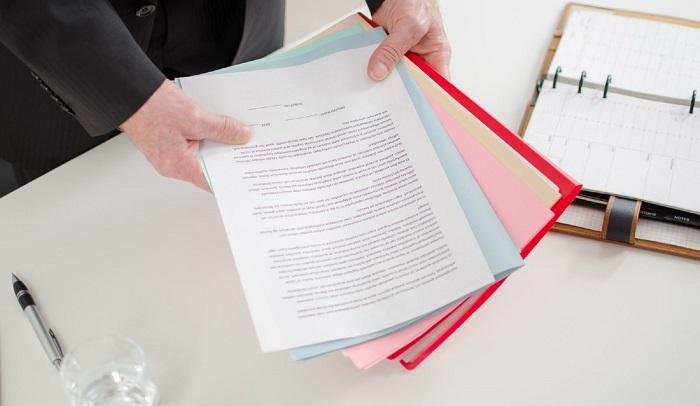 стандартный список документов