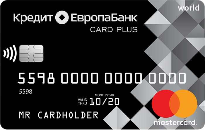 Card Credit Plus от Кредит Европа Банка