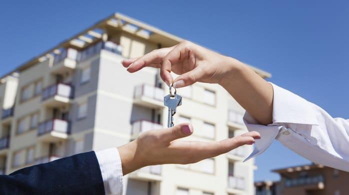 Передача ключей за квартиру