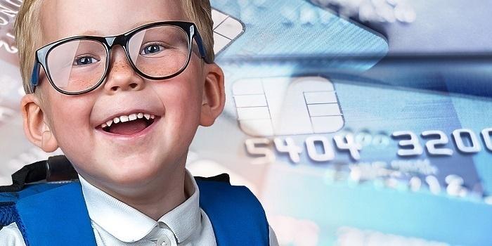 Оформить банковскую карту на ребенка