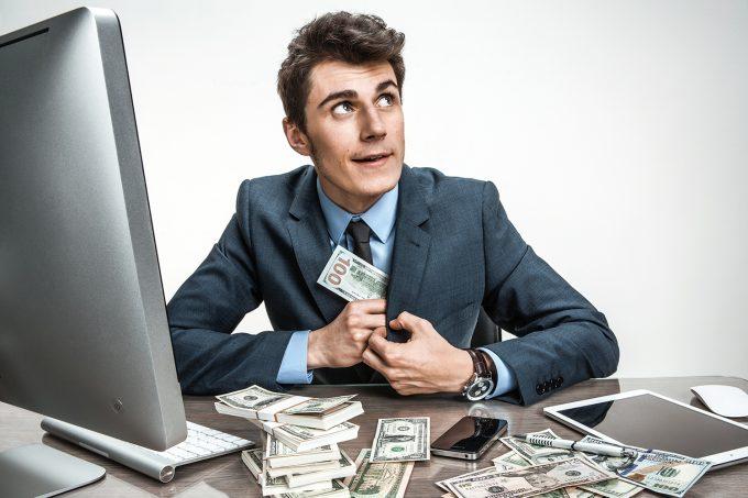 3 основные способа мошенничества сотрудников в банке