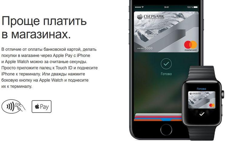 Как делать покупки с Apple Pay