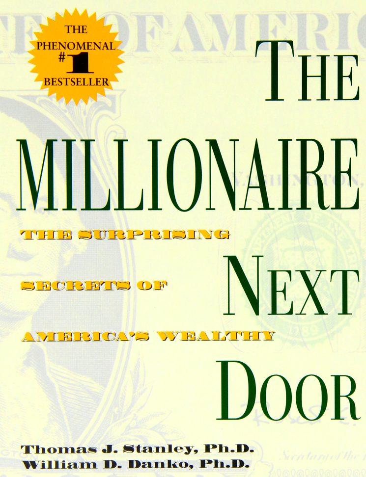 Мой сосед - миллионер, книга Томаса Дж. Стэнли