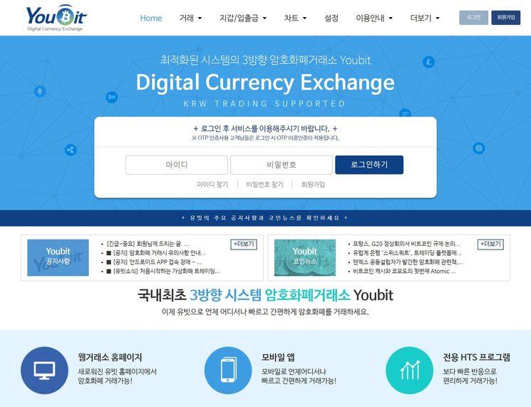 Корейская криптобиржа Youbit объявила себя банкротом