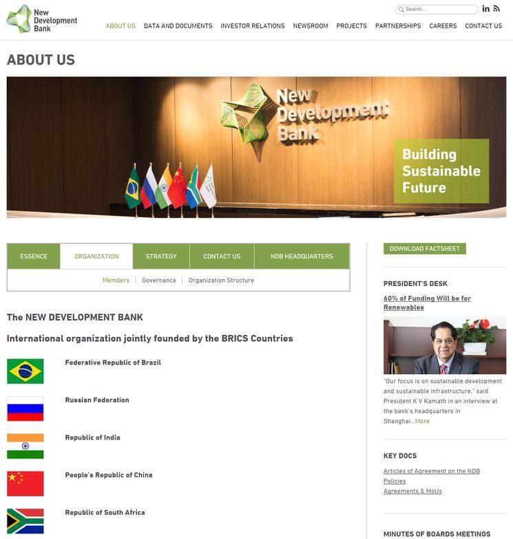 Новый Банк Развития БРИКС