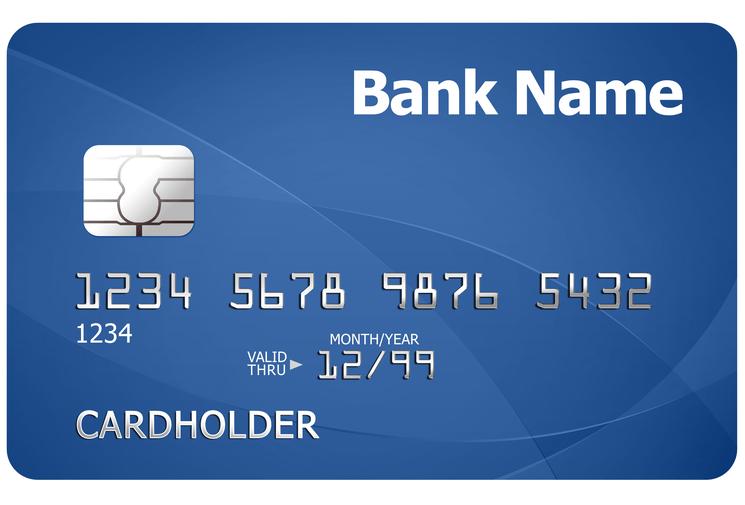 Пример номера кредитки