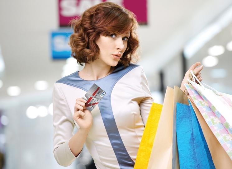 Реклама кредитных карт