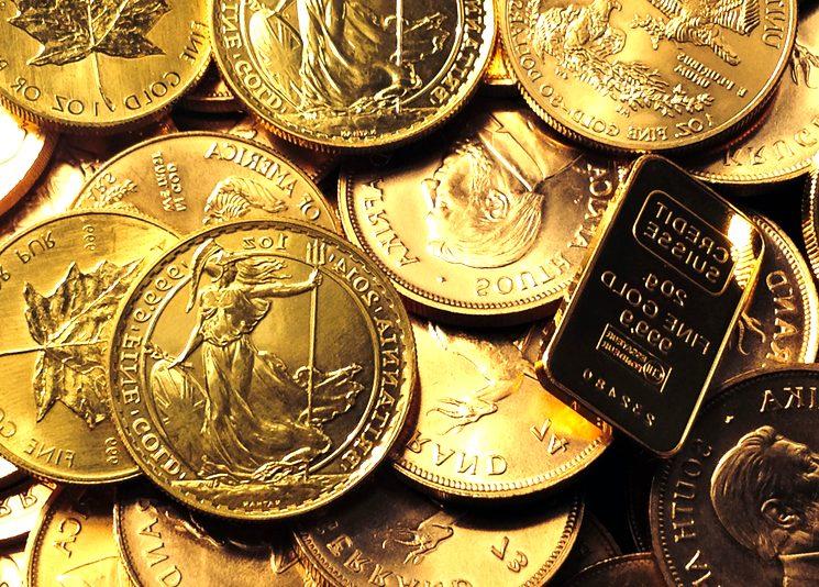 Цены на золото растут из-за геополитики